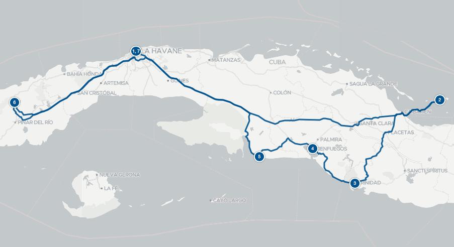 Road trip Cuba